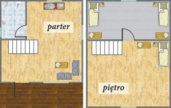Plan domu Chaber