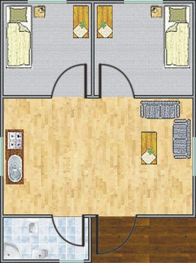 Plan domu Hortensja